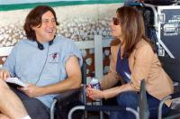 ELIZABETHTOWN, director Cameron Crowe, producer Paula Wagner on set, 2005, (c) Paramount