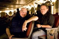 DREAMGIRLS, producer Laurence Mark, director Bill Condon, on set, 2006. ©DreamWorks