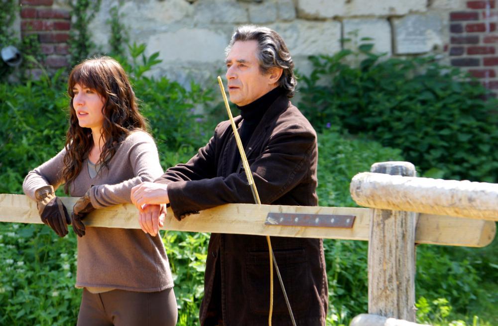 DANCE WITH HIM, (aka DANSE AVEC LUI), Mathilde Seigner, Sami Frey, 2007. ©Pan Européenne Distribution