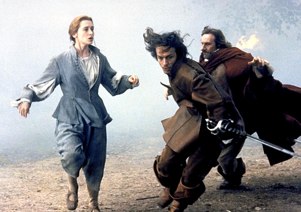 CYRANO DE BERGERAC, Anne Brochet, Vincent Perez, Gerard Depardieu, 1990, (c) Orion Classics
