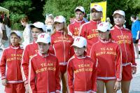 CHEAPER BY THE DOZEN 2, Alexander Conti, Tyler Lautner, Madison Fitzpatrick, Carmen Electra, Courtney Fitpatrick, Shawn Roberts, Eugene Levy, Melanie Tonello, Jaime King, 2005, ©20thCentFox/courtesy Everett