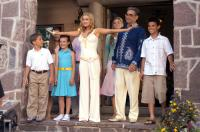 CHEAPER BY THE DOZEN 2, Alexander Conti, Courtney Fitzpatrick, Carmen Electra, Jamie King, Eugene Levy, Taylor Lautner,  2005, TM & Copyright (c) 20th Century Fox Film Corp. All rights reserved.