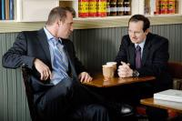 BRIEF INTERVIEWS WITH HIDEOUS MEN, from left: Christopher Meloni, Denis O'Hare, 2009. Ph: Jojo Whilden/©IFC Films