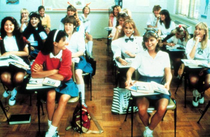 PRIVATE SCHOOL  Phoebe Cates  Kathleen Wilhoite  Kari Lizer  1983   c    Kathleen Wilhoite Private School