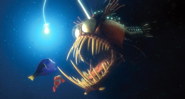 Finding Nemo Angler Fish http://www.cineplex.com/Movies/Archives/CP20103/Finding-Nemo/Photo.aspx?id=264447