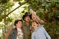 "Troy Gentile, Owen Wilson, Nate Hartley and David Dorfman in ""Drillbit Taylor"""