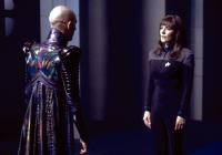 STAR TREK: NEMESIS, Tom Hardy, Marina Sirtis, 2002. Copyright  © 2002 by Paramount Pictures/.