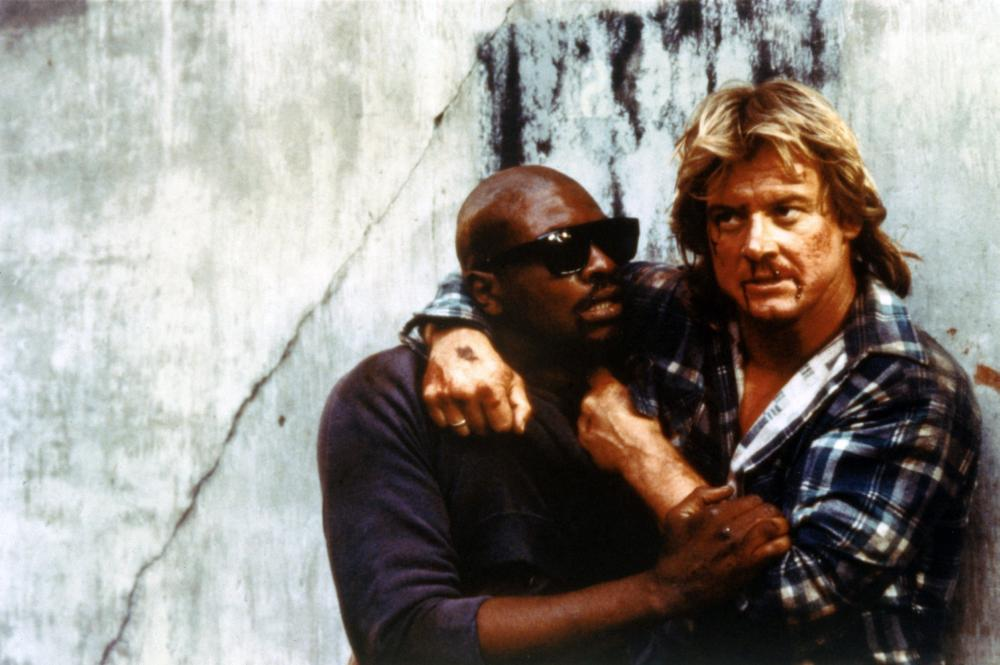 THEY LIVE  Keith David  Roddy Piper  1988   c  UniversalKeith David They Live