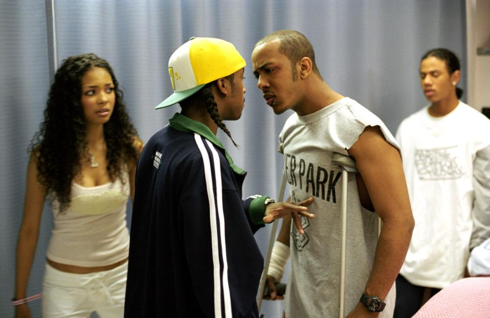 YOU GOT SERVED, Jennifer Freeman, Omari Grandberry, Marquis Houston, Dreux Frederic, 2004, (c) Screen Gems