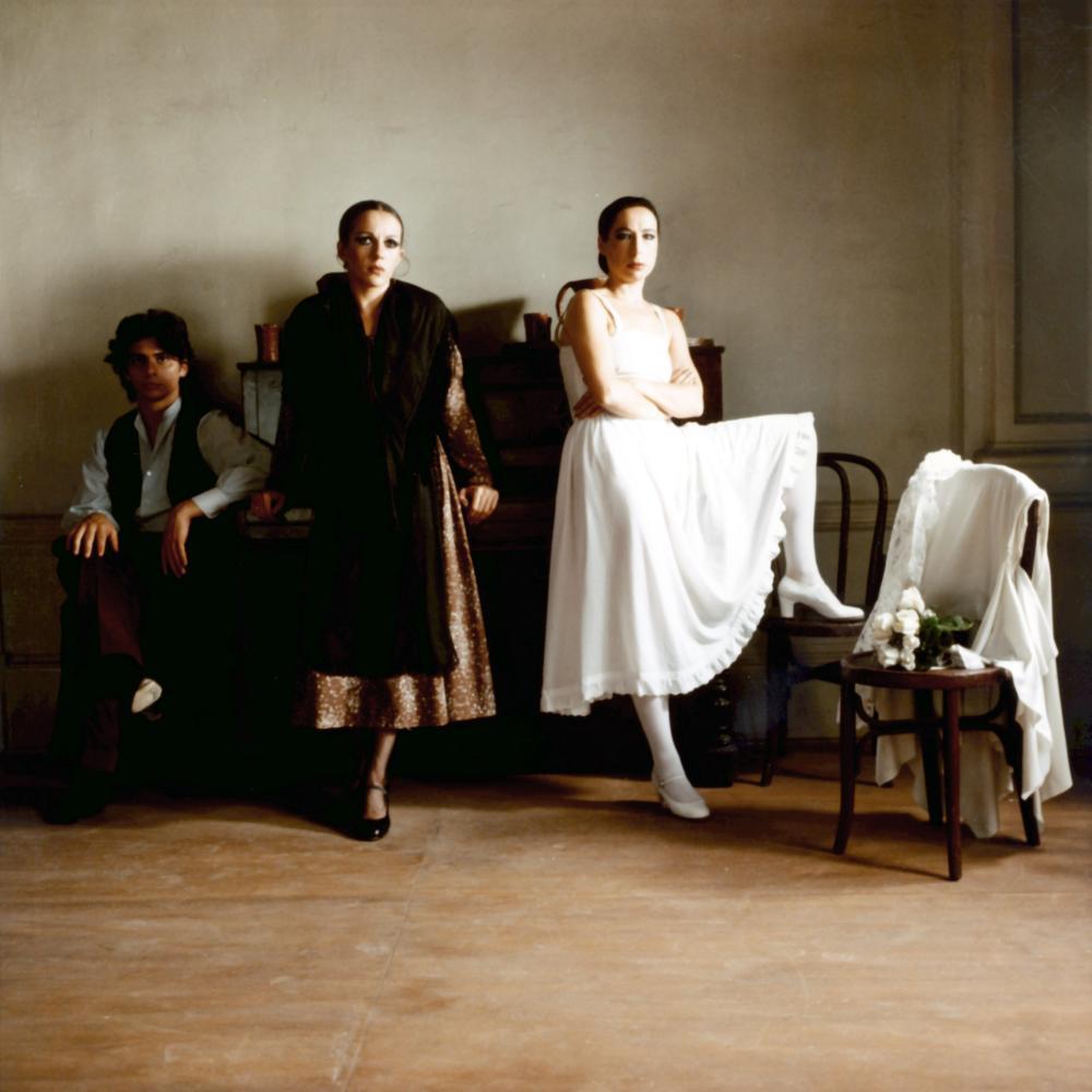 BLOOD WEDDING, (aka BODAS DE SANGRE), Christina Hoyos (right), 1981, (c) Libra Films