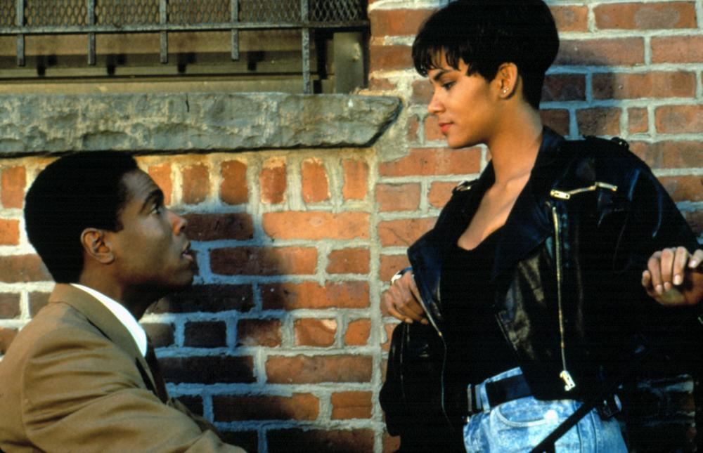Who was halle berry dating in 1991