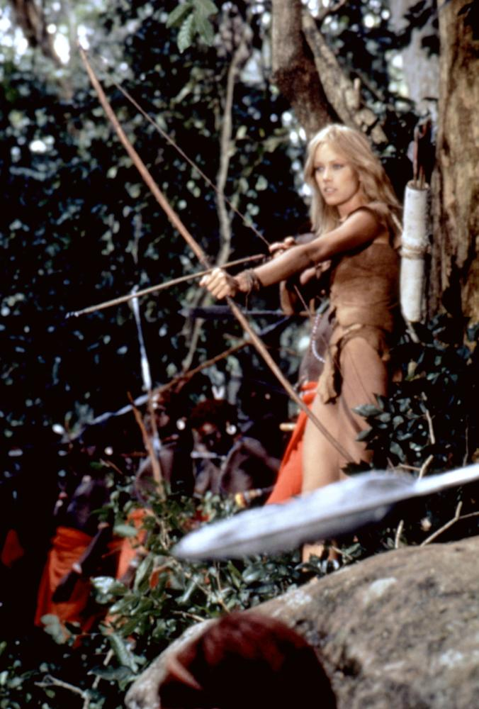 SHEENA, Tanya Roberts, 1984, (c)Columbia Pictures