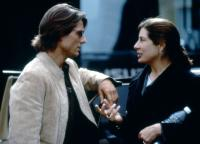 MISSION: IMPOSSIBLE II, Tom Cruise, producer Paula Wagner, on set, 2000. ©Paramount Pictures.