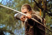 THE LORD OF THE RINGS: THE FELLOWSHIP OF THE RING, Orlando Bloom as Legolas, 2001