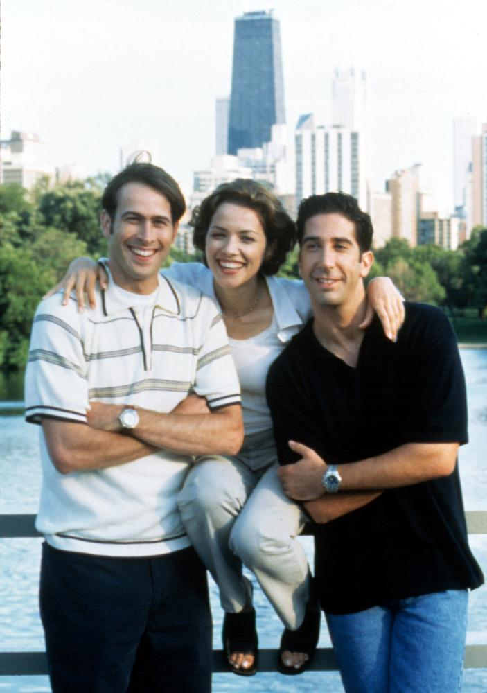 KISSING A FOOL, Jason Lee, Mili Avital, David Schwimmer, 1998