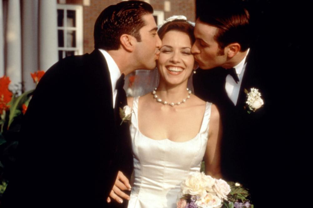 KISSING A FOOL, David Schwimmer, Mili Avital, Jason Lee, 1998, (c)Universal