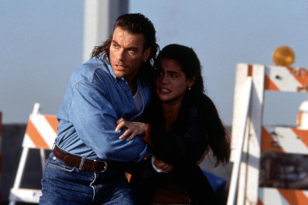 HARD TARGET, Jean-Claude Van Damme, Yancy Butler, 1993, (c)MCA