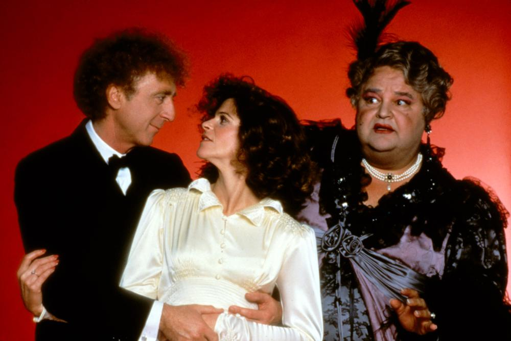 HAUNTED HONEYMOON, Gene Wilder, Gilda Radner, Dom Deluise, 1986