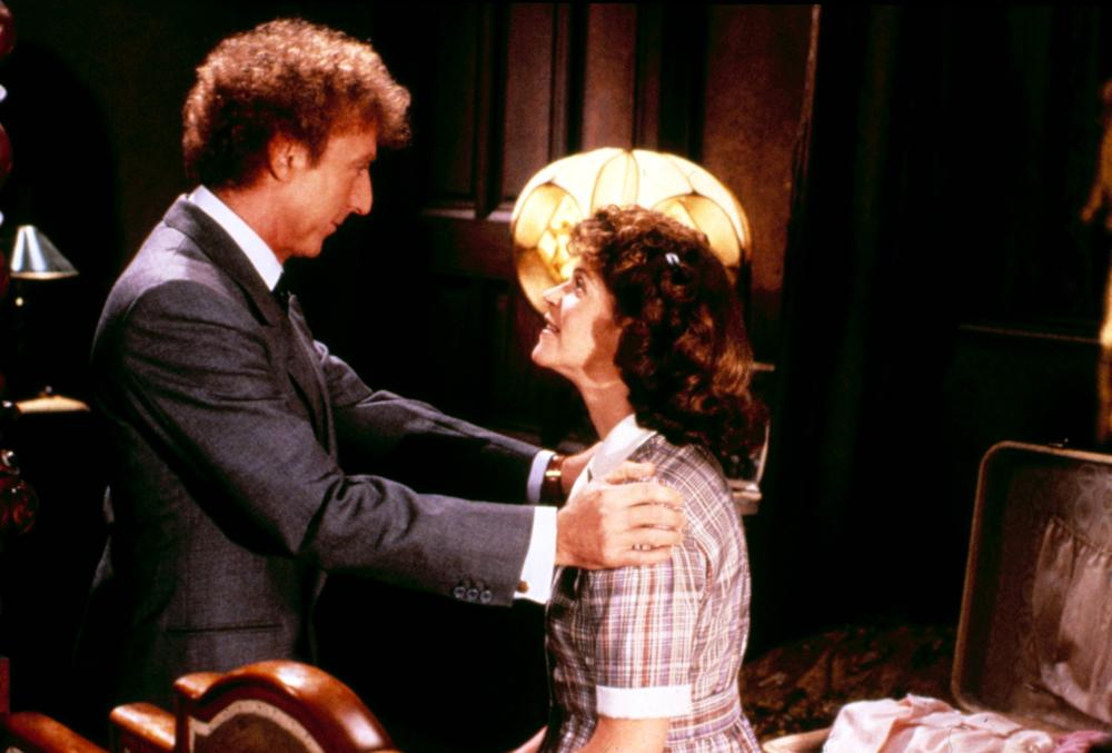 HAUNTED HONEYMOON, Gene Wilder, Gilda Radner, 1986