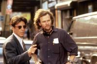 GLENGARRY GLEN ROSS, Al Pacino, director James Foley on set, 1992, (c)New Line Cinema