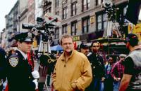 THE CORRUPTOR, Mark Wahlberg, director James Foley, on set, 1999, (c)New Line Cinema