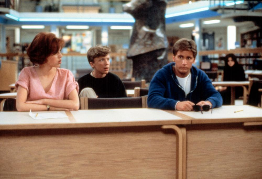 BREAKFAST CLUB, THE, Molly Ringwald, Anthony Michael Hall, Emilio Estevez, 1985