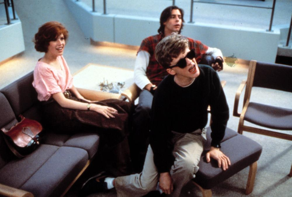 BREAKFAST CLUB, THE, Molly Ringwald, Anthony Michael Hall, Judd Nelson, 1985.