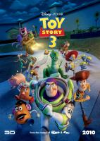 TOY STORY 3, front, from left: Mr. Potato Head (voice: Don Rickles), Buzz Lightyear (voice: Tim Allen), Woody (voice: Tom Hanks), Russia poster, 2010. ©Buena Vista Pictures