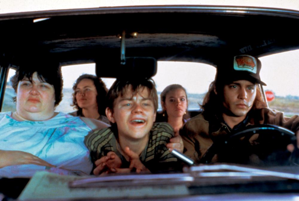WHAT'S EATING GILBERT GRAPE?, Darlene Cates, Laura Harrington, Leonardo Di Caprio, Mary Kate Schellhardt, Johnny Depp, 1993
