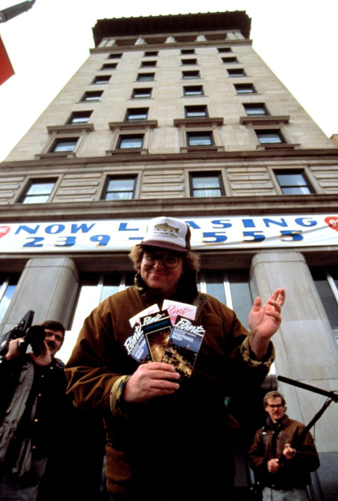 a review of the 1989 documentary roger me by michael moore Twenty-five years ago michael moore's roger & me redefined what a the film ended up taking the 1989 toronto film festival by storm and earned more review.