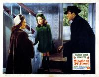 MIRACLE ON 34TH STREET, Maureen O'Hara, John Payne, and Natalie Wood, 1947. TM and Copyright (c) 20th Century Fox Film Corp. All rights reserved.