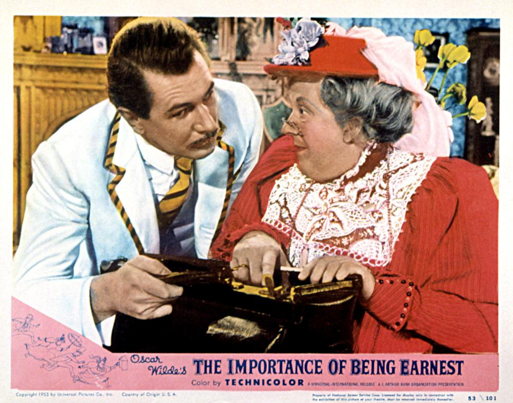 is the importance of being earnest
