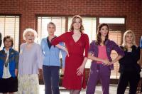 YOU AGAIN, women, from left: Betty White, Jamie Lee Curtis, Sigourney Weaver, Odette Yustman, Kristen Bell, 2010. ph: Mark Fellman/©Touchstone Pictures