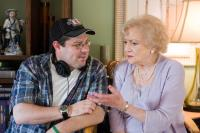 YOU AGAIN, from left: director  Andy Fickman, Betty White, on set, 2010. ph: Mark Fellman/©Touchstone Pictures