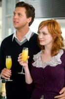 LIFE AS WE KNOW IT, from left: Hayes MacArthur, Christina Hendricks, 2010. ph: Peter Iovino/©Warner Bros
