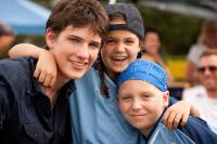 LETTERS TO GOD, from left: Michael Bolten, Bailee Madison, Tanner Maguire, 2010. ©Vivendi Entertainment