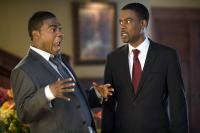 DEATH AT A FUNERAL, from left: Tracy Morgan, Chris Rock, 2010. ph: Phil Bray/©Screen Gems