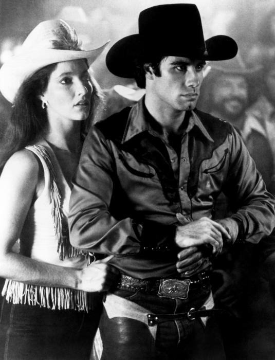 URBAN COWBOY  from left  Madolyn Smith  John Travolta  1980    Madolyn Smith Urban Cowboy