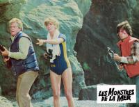 HUMANOIDS FROM THE DEEP, (aka LES MONSTRES DE LA MER), from left: Doug McClure, Ann Turkel, Anthony Pena, 1980, © New World
