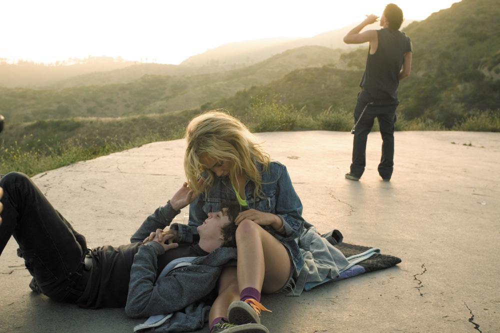 LITTLE BIRDS, l-r: Kyle Gallner, Juno Temple, Chris Coy, 2011, photo: Marianne Williams