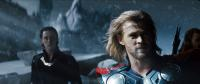 THOR, from left: Tom Hiddleston, Chris Hemsworth, as Thor, 2011. ©Paramount Pictures