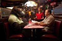 ZOOKEEPER, Jackie Sandler, (back), Kevin James (right), 2011. Ph: Tracy Bennett/©Sony Pictures
