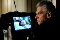 A DANGEROUS METHOD, director David Cronenberg on set, 2011, ©Universal