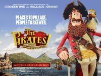 THE PIRATES! BAND OF MISFITS, British poster art, 2012. ©Columbia Pictures