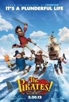 THE PIRATES! BAND OF MISFITS, US poster art, 2012. ©Columbia Pictures