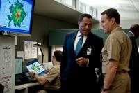 CONTAGION, from left: Laurence Fishburne, Bryan Cranston, 2011. ph: Claudette Barius/©Warner Bros