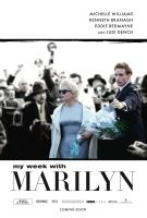 MY WEEK WITH MARILYN, l-r: Michelle Williams (as Marilyn Monroe), Eddie Redmayne on US poster art, 2011, ©The Weinstein Company