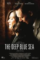 THE DEEP BLUE SEA, l-r: Rachel Weisz, Tom Hiddleston on British poster art, ©Music Box Films