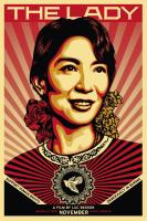 THE LADY, British poster art, Michelle Yeoh, 2011. ph: Magali Bragard/©Cohen Media Group