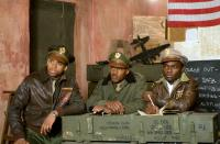 RED TAILS, from left: Tristan Wilds, Nate Parker, David Oyelowo, 2012, Ph: Jiri Hanzl/TM and Copyright ©20th Century Fox Film Corp. All rights reserved.